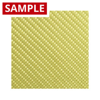 300g 2x2 Twill Weave Kevlar Cloth Fabric - SAMPLE Thumbnail