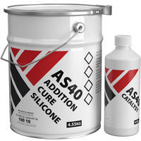AS40 Addition Cure Silicone Rubber 5kg Kit Thumbnail
