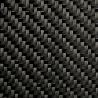 200g 2x2 Twill 3k Black Stuff Carbon Fibre Cloth (1000mm) Linear Metres Thumbnail