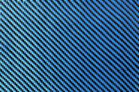 Blue Carbon Fibre Cloth 2x2 Twill Wide Thumbnail