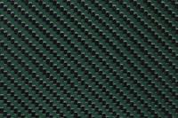 Green Carbon Fibre Cloth 2x2 Twill Cured Laminate Sample Thumbnail