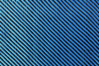 Blue Carbon Fibre Cloth 2x2 Twill Wide Thumbnail