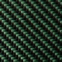 210g Green 2x2 Twill 3k Carbon Fibre Cloth (1000mm) Thumbnail