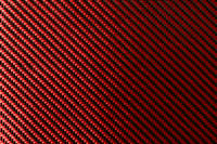 Red Carbon Fibre Cloth 2x2 Twill Wide Thumbnail