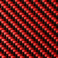 210g Red 2x2 Twill 3k Carbon Fibre Cloth (1000mm) Thumbnail