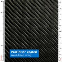 210g ProFinish 2x2 Twill 3k Carbon Fibre Cloth Thumbnail