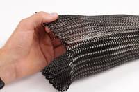 125mm Braided Carbon Fibre Sleeve Spread Thumbnail