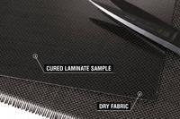 90g Plain Weave 1k Carbon Fibre Cloth Cured Lam Thumbnail