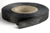 25mm Plain Weave Carbon Fibre Tape Full Roll Thumbnail
