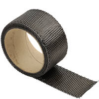 240g Carbon Fibre Narrow Fabric Plain Weave (50mm) Thumbnail