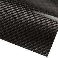 Carbon Fibre Veneer Sheet 0.25mm Thumbnail