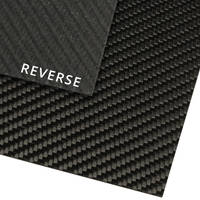 High Strength Carbon Fibre Sheet T=2mm, 950 x 500mm Thumbnail