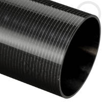 54mm (50.8mm) Roll Wrapped Carbon Fibre Tube Thumbnail
