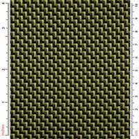210g 2x2 Twill 3k Carbon Kevlar Cloth Thumbnail