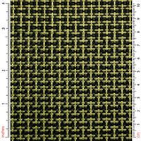 188g Plain Weave 3k Carbon Kevlar Cloth Thumbnail