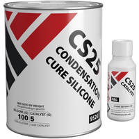 CS25 Condensation Cure Silicone Rubber 1kg Kit Thumbnail