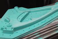 A CNC Machined Pattern for a Mountain Bike Frame Mould Thumbnail