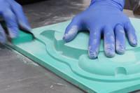 Hand Finishing a Epoxy Tooling Board Pattern Thumbnail