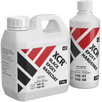 XCR Black Epoxy Basecoat 1kg Kit Thumbnail