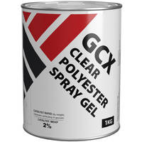 GCX Clear Polyester Spray Gel 1kg Thumbnail