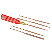 Perma-Grit Set of 5 Needle Files Including Handle Thumbnail