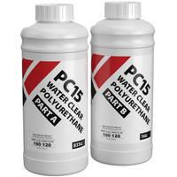 PC15 Water Clear Polyurethane Casting Resin 1.8kg Kit Thumbnail