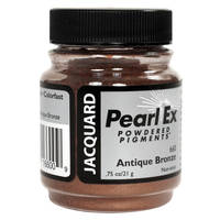 Antique Bronze (#660) Pearl Ex Powdered Pigment 14g Thumbnail