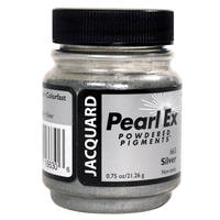 Silver (#663)Pearl Ex Powdered Pigment 21g Thumbnail
