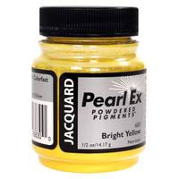 Bright Yellow (#683) Pearl Ex Powdered Pigment 14g Thumbnail