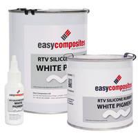 White Liquid Silicone Pigment Thumbnail