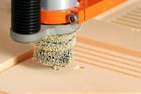 Closeup of CNC Machining PU240 Model Board Thumbnail