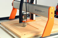 Machining PU240 Model Board on a Stepcraft CNC Router Thumbnail