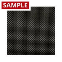 210g Plain Weave 3k Carbon Fibre - SAMPLE Thumbnail