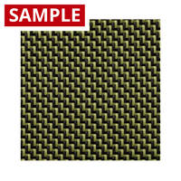 210g 2x2 Twill 3k Carbon Kevlar - SAMPLE Thumbnail