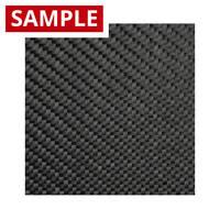 200g 2x2 Twill Black Diolen - SAMPLE Thumbnail