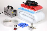 Vacuum Bagging Starter Kit Shown with Optional Vacuum Pump and Regulator Thumbnail