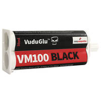 VM100 Black 10min Methyl Methacrylate Adhesive 50ml Twin Tube Thumbnail