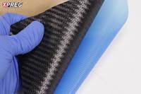 XC110 210g 2x2 Twill 3k Prepreg Carbon Fibre Fingers Thumbnail